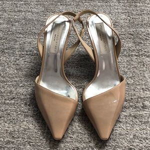 Stella McCartney Nude Slingbacks Size 37.5